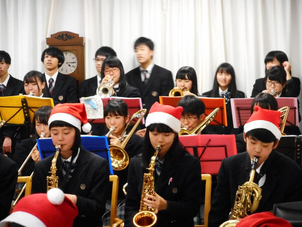 愛知中学・高等学校吹奏楽団の皆...
